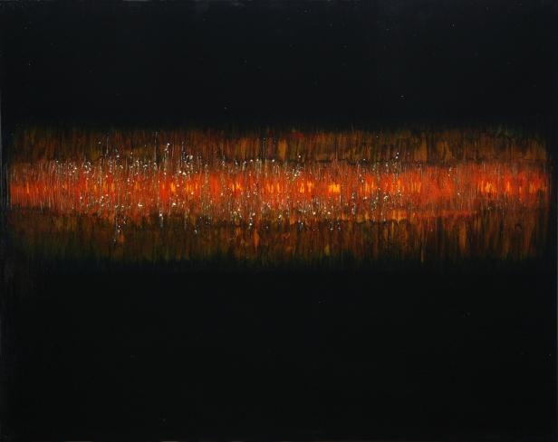 Red, 100cms x 70cms 2008